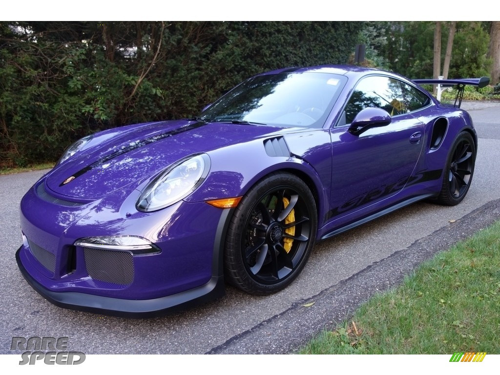 2016 911 GT3 RS - Ultraviolet / Black/GT Silver Alcantara photo #1