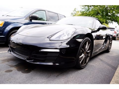 Black 2013 Porsche Boxster