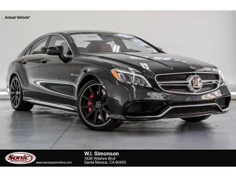 Magnetite Black Metallic 2018 Mercedes-Benz CLS AMG 63 S 4Matic Coupe