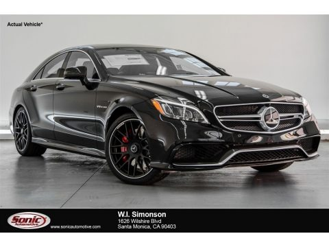Black 2018 Mercedes-Benz CLS AMG 63 S 4Matic Coupe