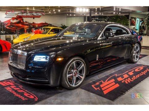 Autumn Mystery Black 2014 Rolls-Royce Wraith