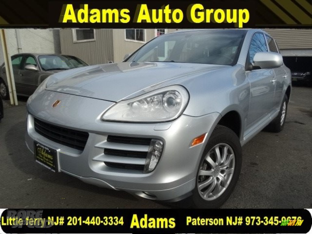 2008 Cayenne Tiptronic - Crystal Silver Metallic / Black photo #3