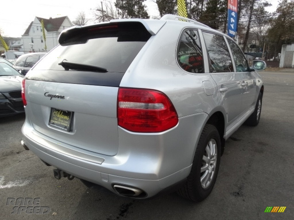 2008 Cayenne Tiptronic - Crystal Silver Metallic / Black photo #4