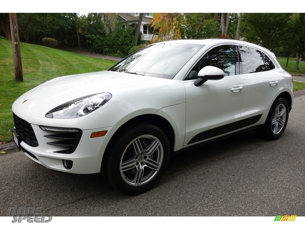 2016 Macan S - White / Black/Garnet Red photo #1