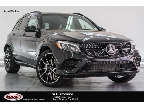 Obsidian Black Metallic 2018 Mercedes-Benz GLC AMG 43 4Matic