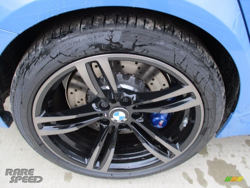 2018 M3 Sedan - Yas Marina Blue Metallic / Black photo #8