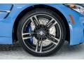 BMW M3 Sedan Yas Marina Blue Metallic photo #9