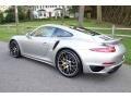 Porsche 911 Turbo S Coupe GT Silver Metallic photo #4