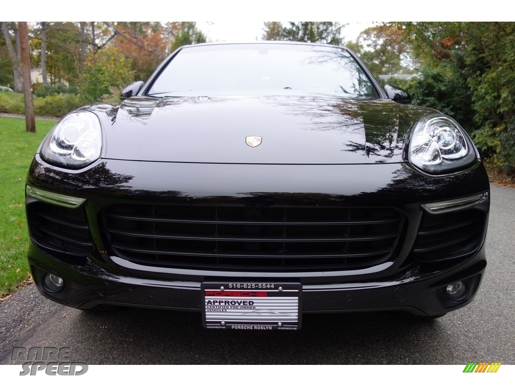 2016 Cayenne  - Black / Black/Luxor Beige photo #2