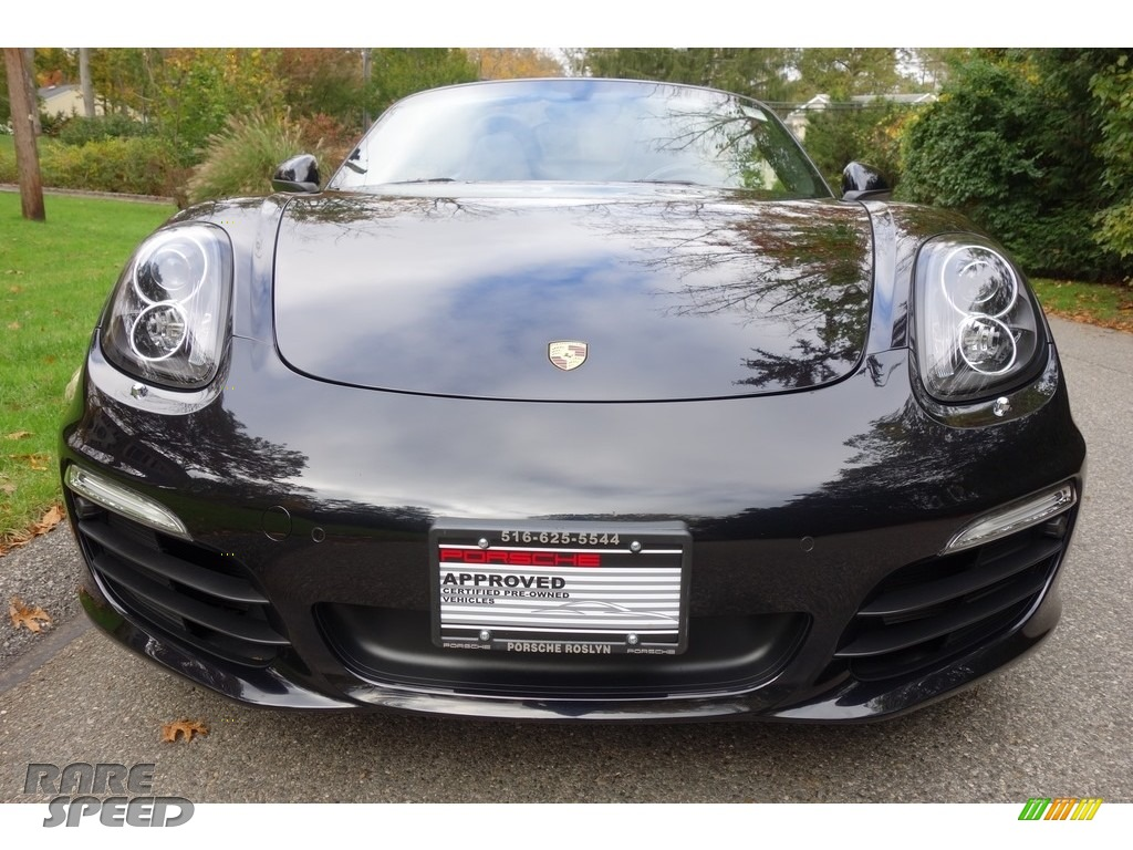 2015 Boxster  - Jet Black Metallic / Black photo #2