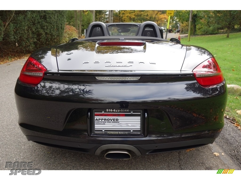 2015 Boxster  - Jet Black Metallic / Black photo #5