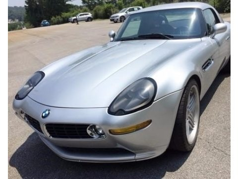 Titanium Silver Metallic 2003 BMW Z8 Alpina Roadster
