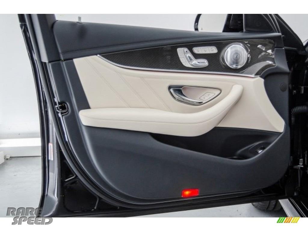2018 E AMG 63 S 4Matic Wagon - Black / Macchiato Beige/Black photo #24