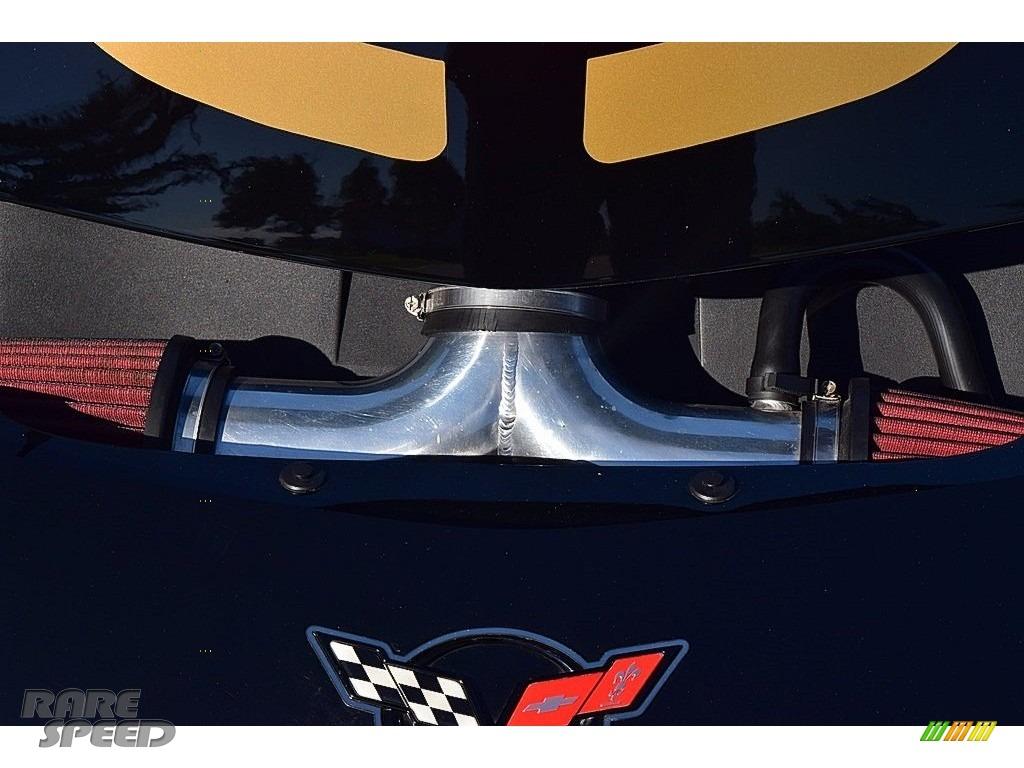 2002 Corvette Z06 - Black / Black photo #53