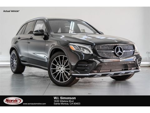 Black 2018 Mercedes-Benz GLC AMG 43 4Matic