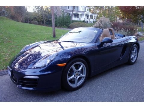 Dark Blue Metallic 2015 Porsche Boxster