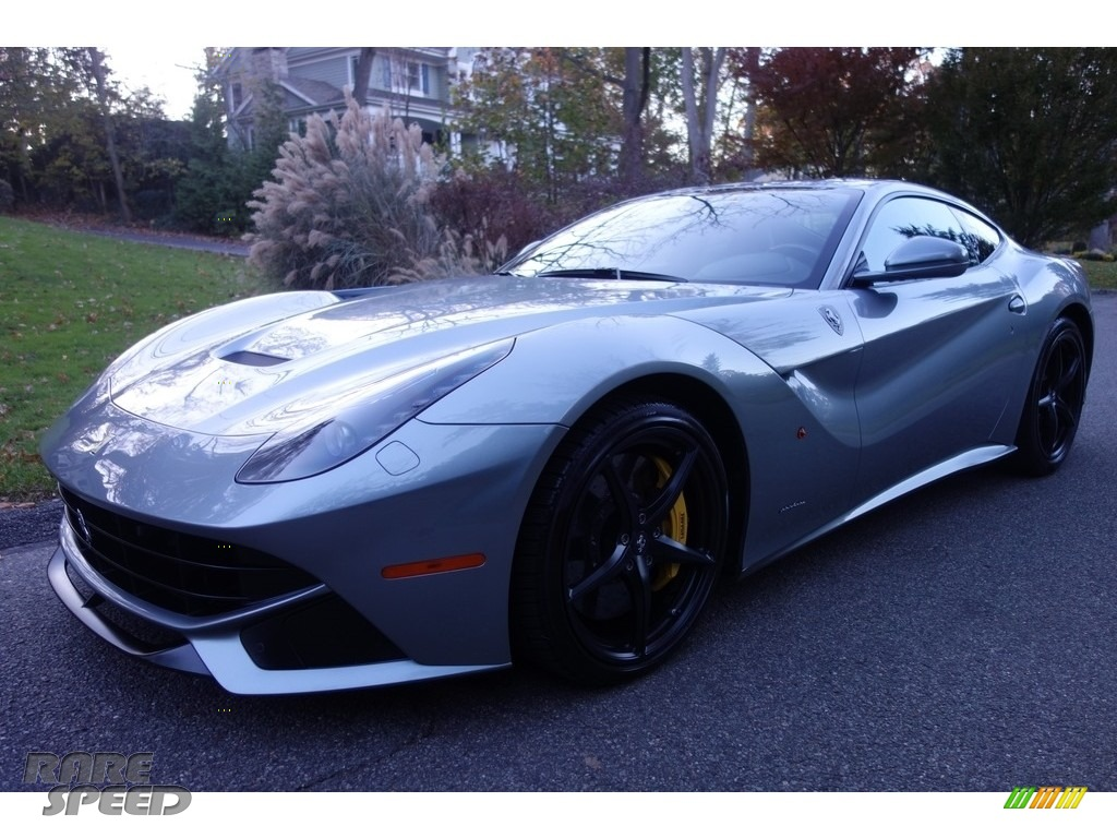 2014 F12berlinetta  - Grigio Titanio Metallic (Grey) / Nero photo #1