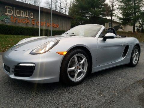 GT Silver Metallic 2015 Porsche Boxster