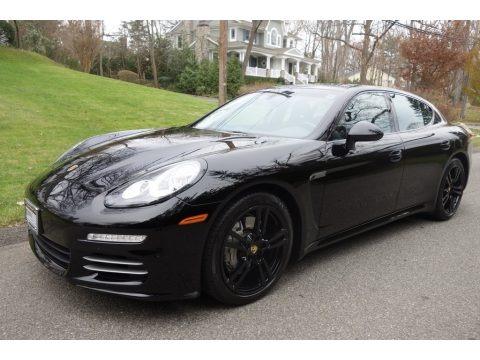 Black 2016 Porsche Panamera 4S