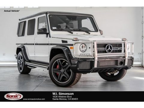 Polar White 2017 Mercedes-Benz G 63 AMG