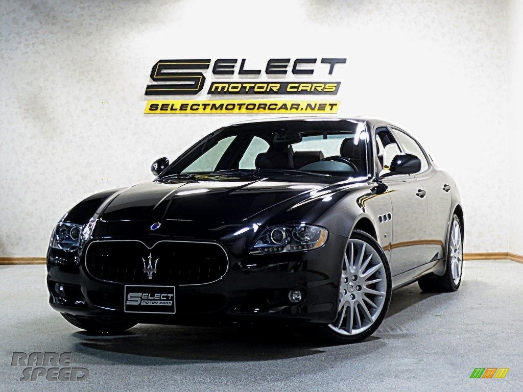 2012 Quattroporte S - Nero Carbonio (Black Metallic) / Nero photo #1