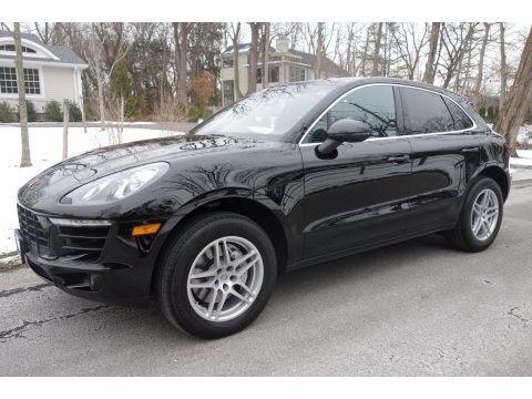 Black 2015 Porsche Macan S