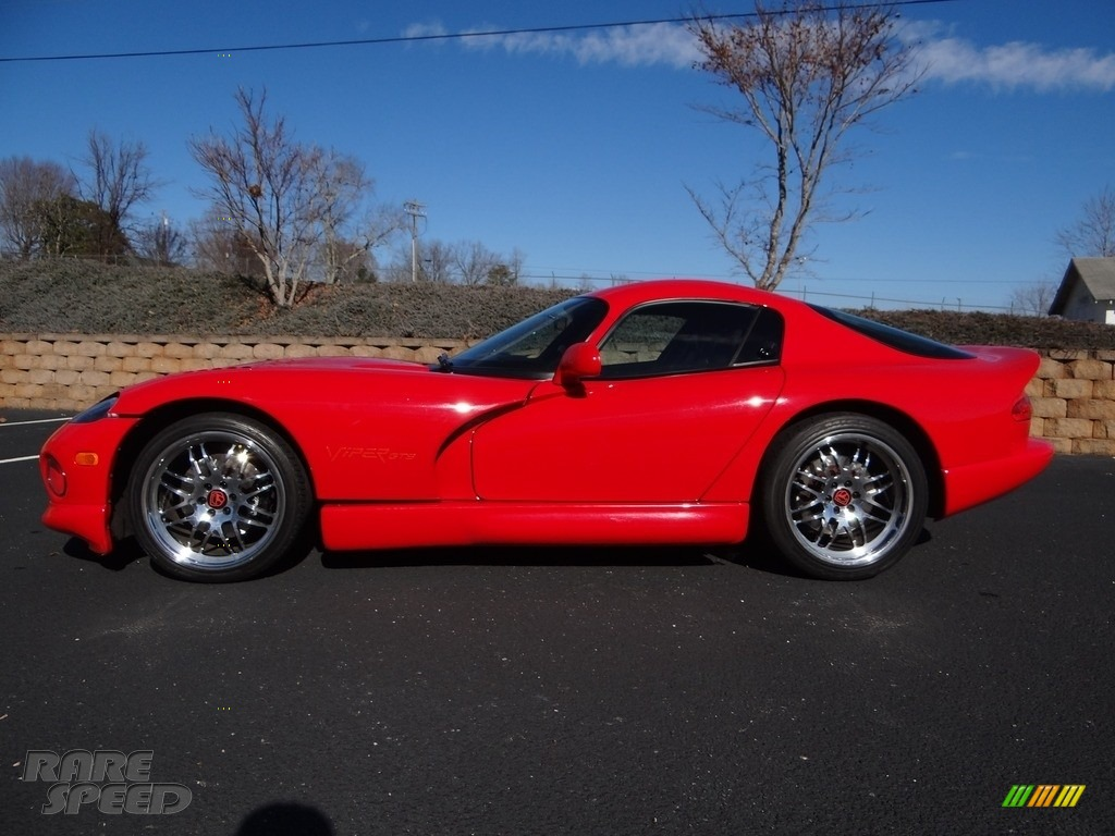 1997 Viper GTS - Viper Red / Black photo #4