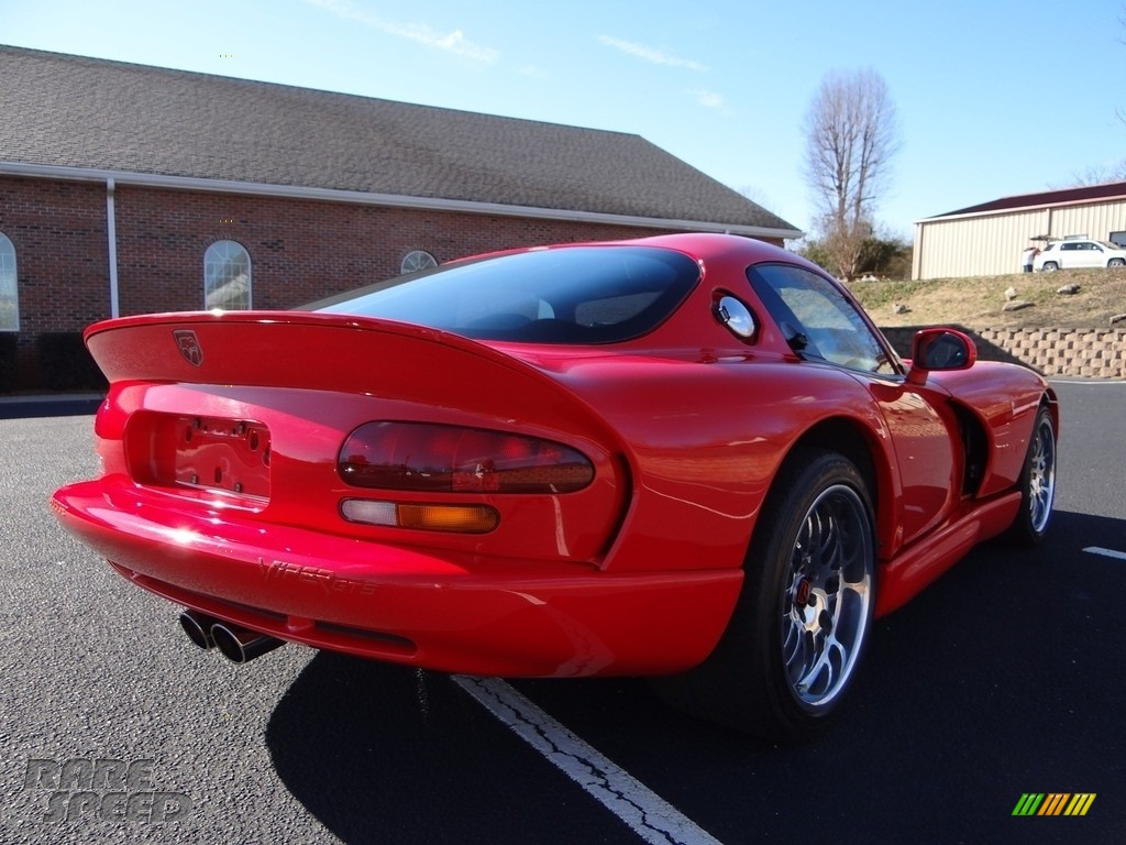 1997 Viper GTS - Viper Red / Black photo #10