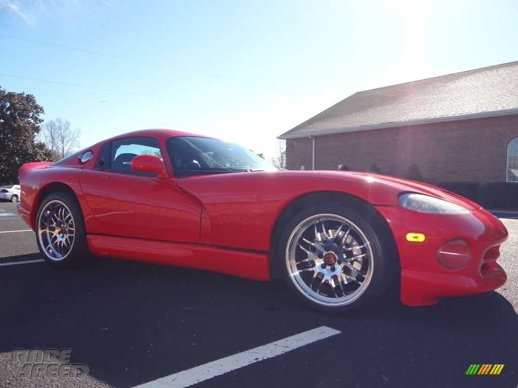 1997 Viper GTS - Viper Red / Black photo #14