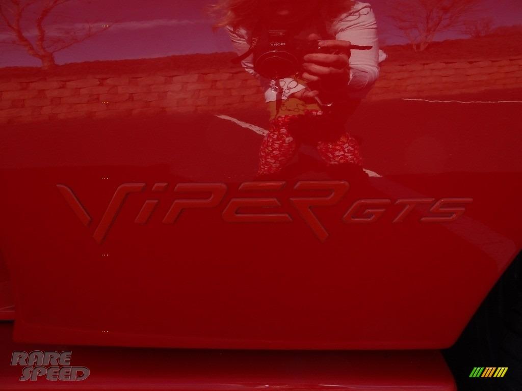 1997 Viper GTS - Viper Red / Black photo #20