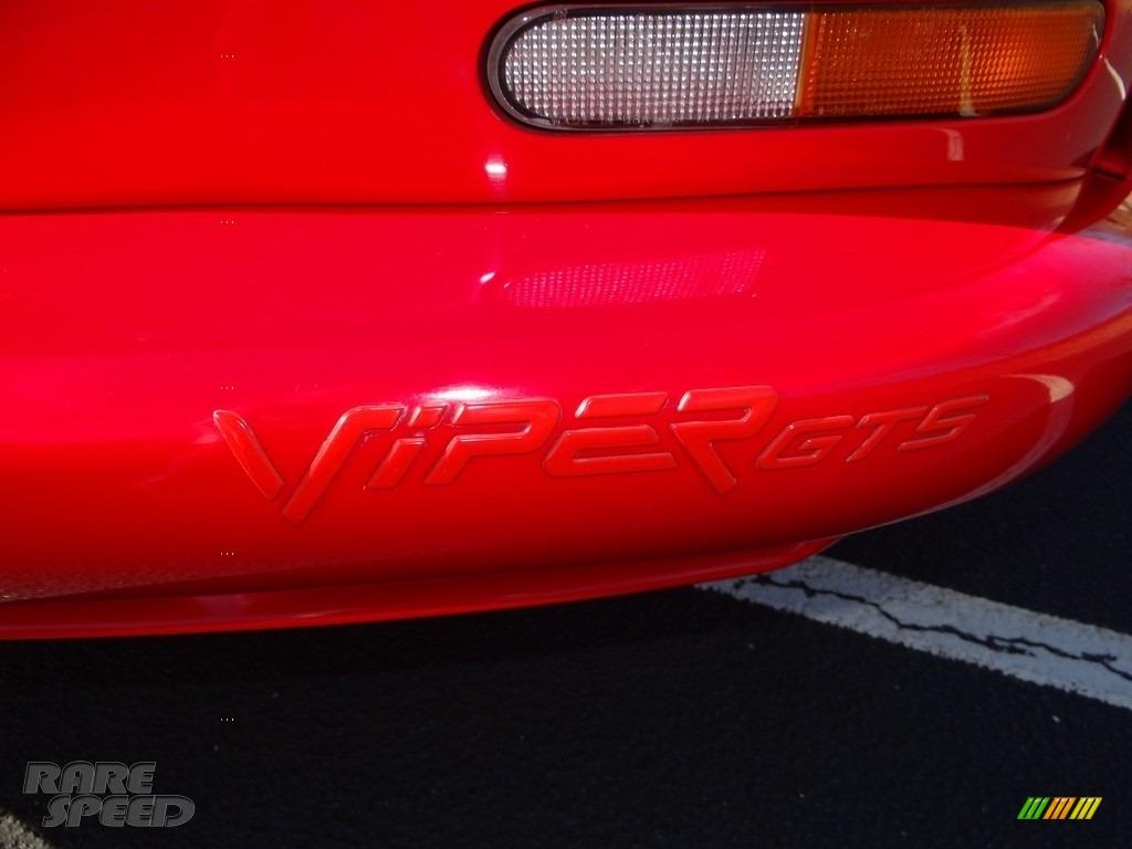 1997 Viper GTS - Viper Red / Black photo #24