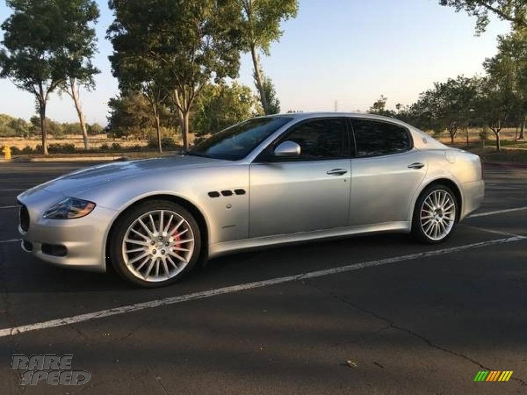 Grigio Touring (Silver) / Nero Maserati Quattroporte S