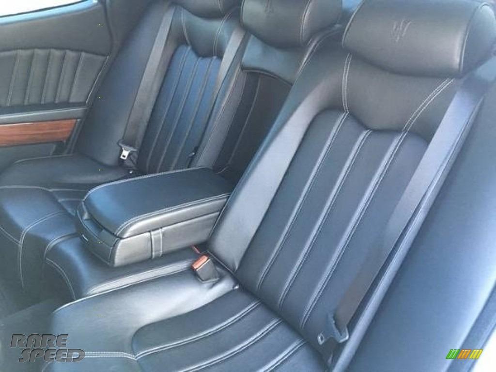 2011 Quattroporte S - Grigio Touring (Silver) / Nero photo #8