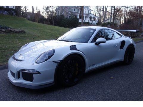 White 2016 Porsche 911 GT3 RS