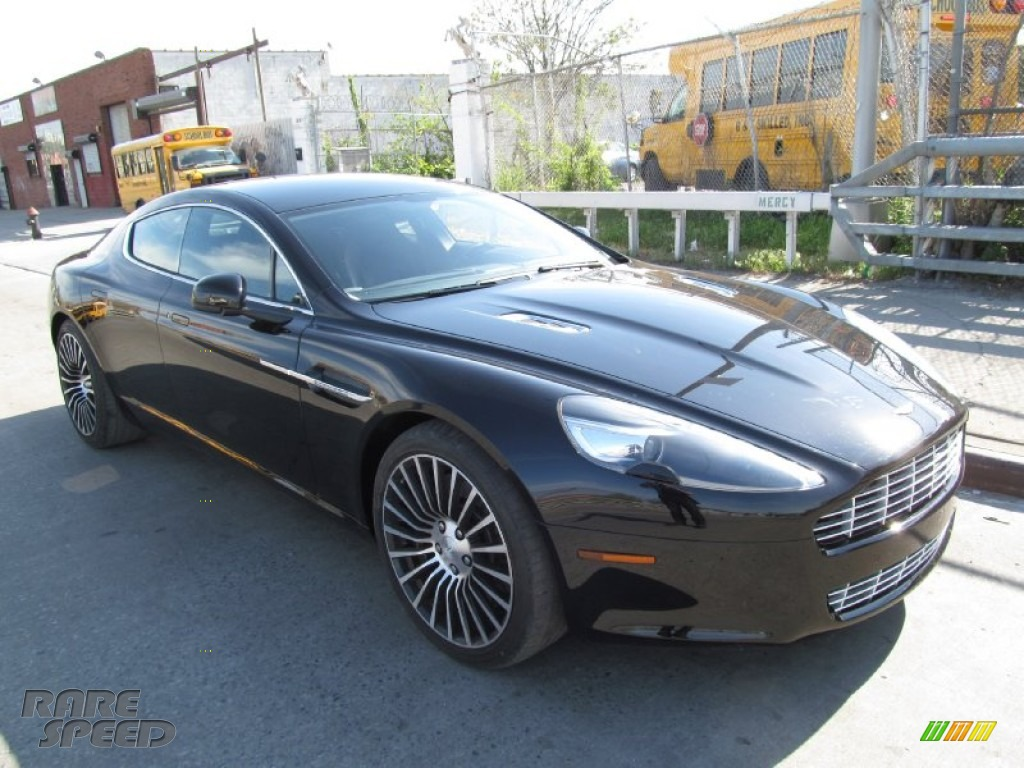 2012 Rapide Luxe - Marron Black / Obsidian Black photo #1