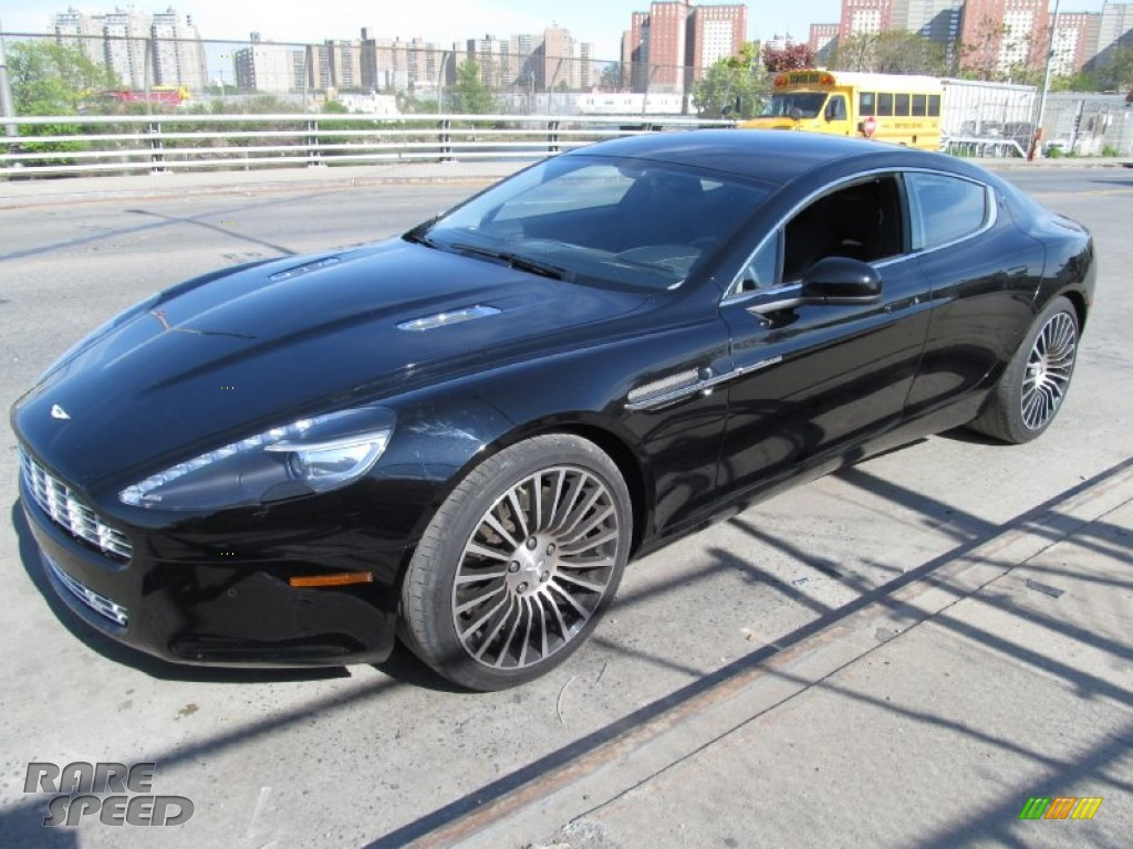 2012 Rapide Luxe - Marron Black / Obsidian Black photo #2