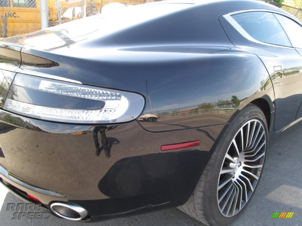 2012 Rapide Luxe - Marron Black / Obsidian Black photo #15