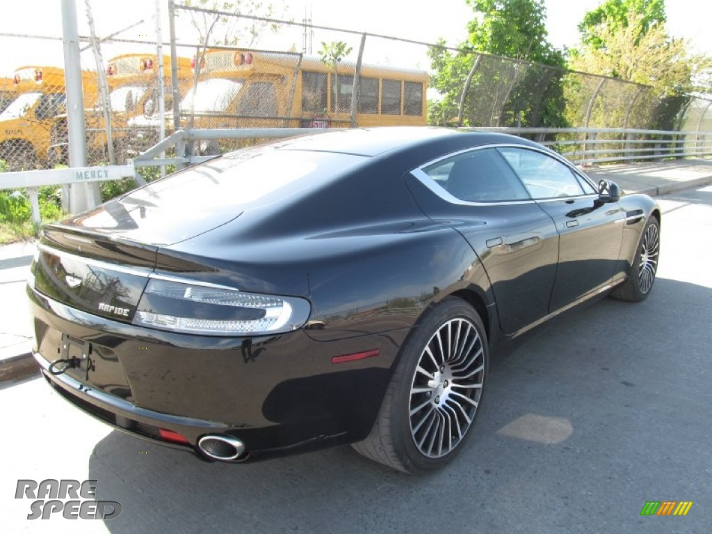 2012 Rapide Luxe - Marron Black / Obsidian Black photo #19