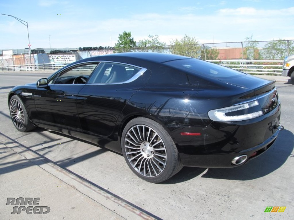 2012 Rapide Luxe - Marron Black / Obsidian Black photo #20
