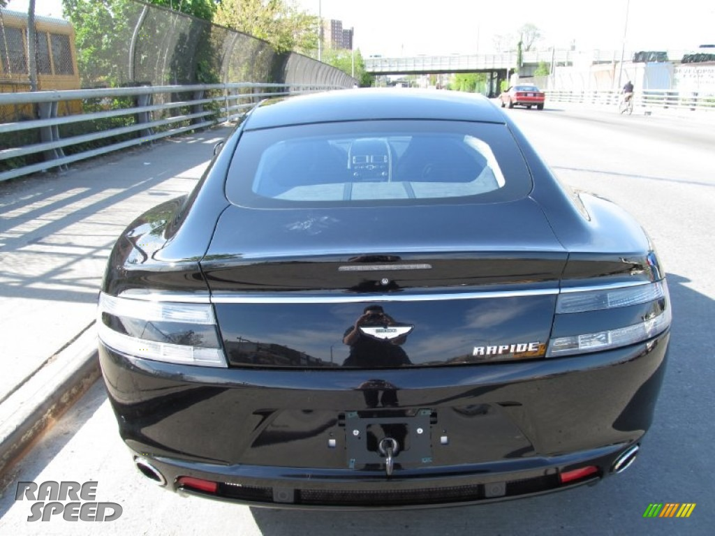 2012 Rapide Luxe - Marron Black / Obsidian Black photo #21