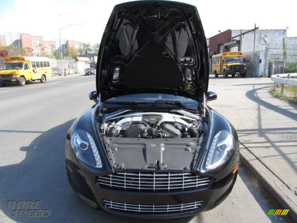 2012 Rapide Luxe - Marron Black / Obsidian Black photo #24