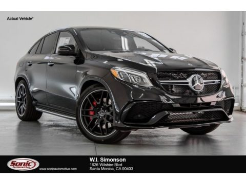 Black 2018 Mercedes-Benz GLE 63 S AMG 4Matic Coupe