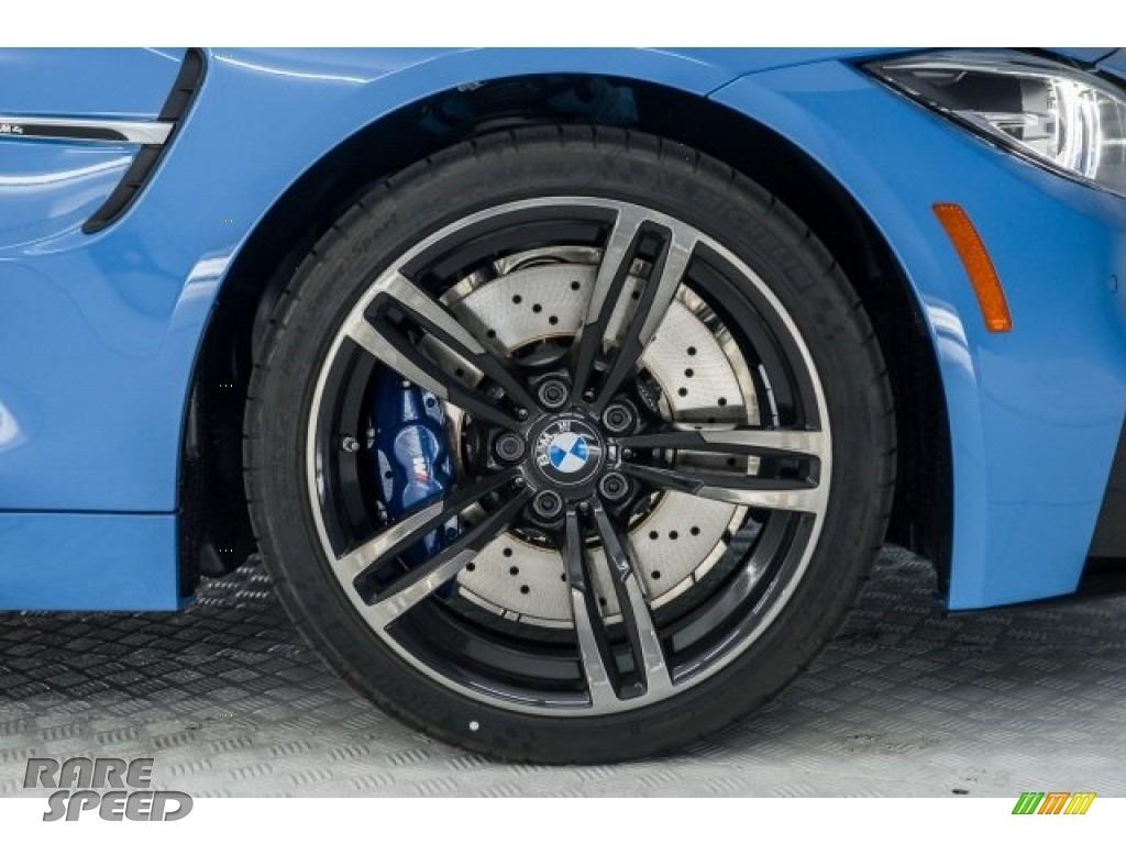 2018 M4 Coupe - Yas Marina Blue Metallic / Sakhir Orange/Black photo #9