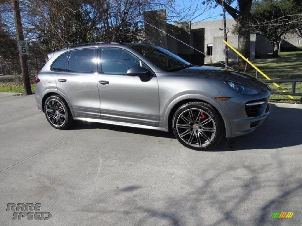 2014 Porsche Cayenne Gts In Meteor Grey Metallic A74814 Rarespeed Com