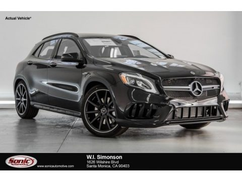 Cosmos Black Metallic 2018 Mercedes-Benz GLA AMG 45 4Matic