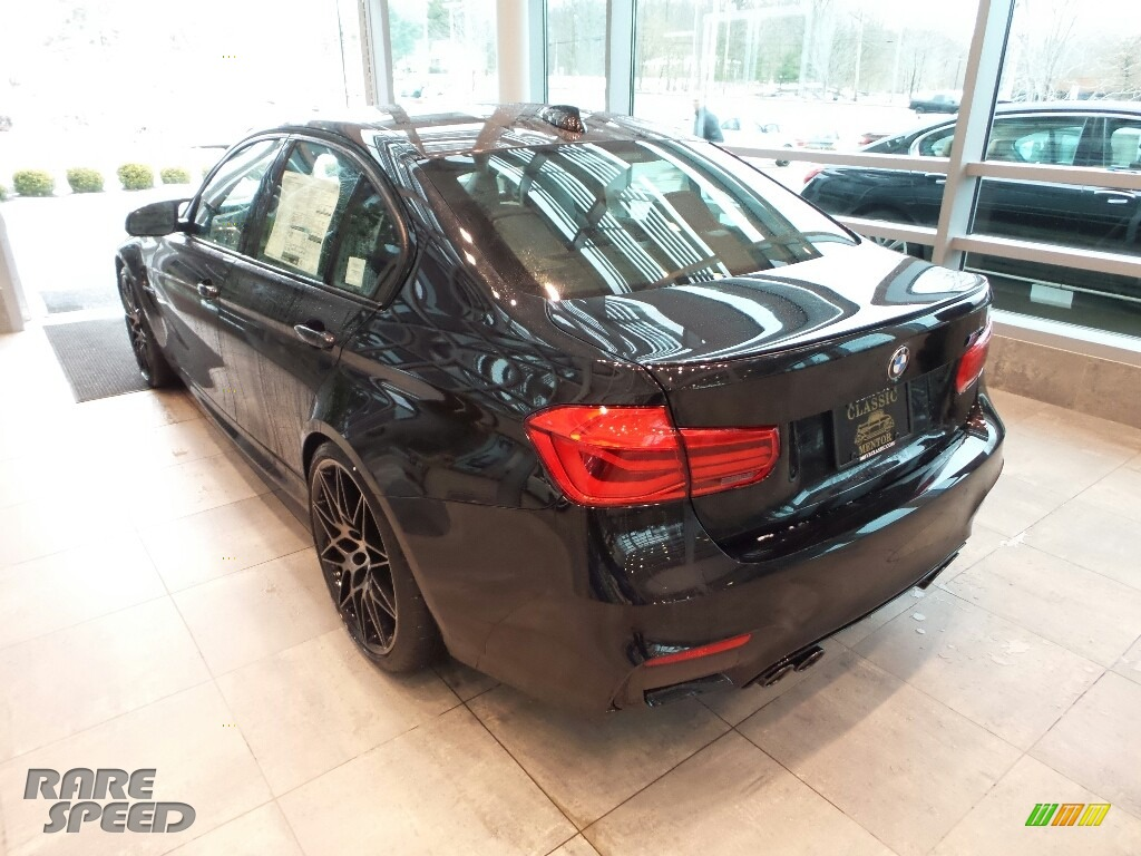 2018 M3 Sedan - Black Sapphire Metallic / Black photo #2