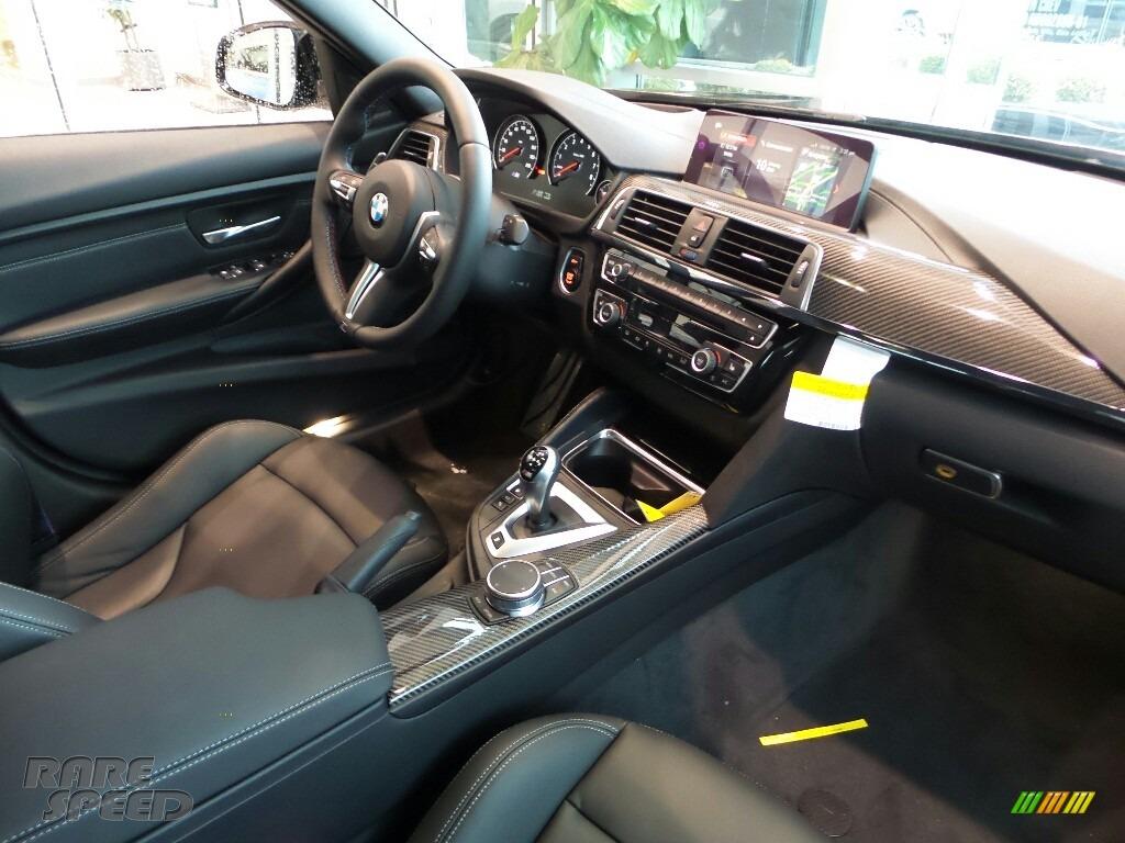 2018 M3 Sedan - Black Sapphire Metallic / Black photo #5