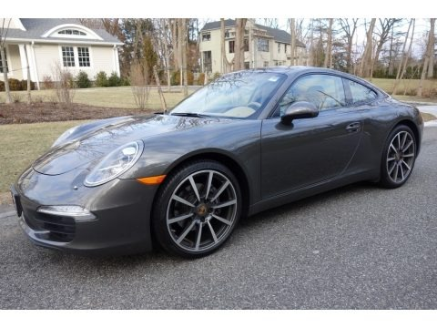 Agate Grey Metallic 2014 Porsche 911 Carrera Coupe