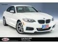 BMW M235i Coupe Alpine White photo #1