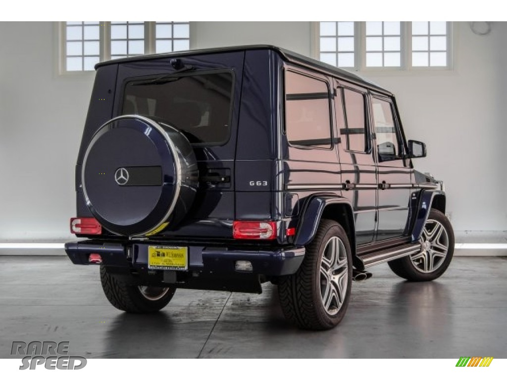 2018 G 63 AMG - designo Mystic Blue Metallic / designo Black photo #21